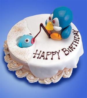 عکس کیک تولد حسین