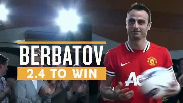Betfair - Stars And Strikes - Berbatov, Young & Evra