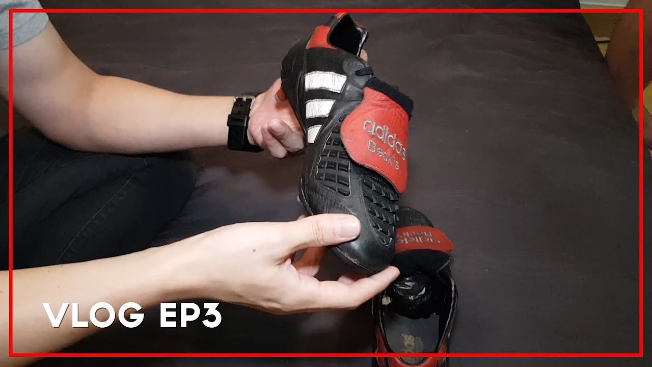 บุกคลังแสง เต๊ะ ศตวรรษ พิสูจน์กลิ่นรองเท้าสตั๊ดเบคแฮม | VLOG EP3