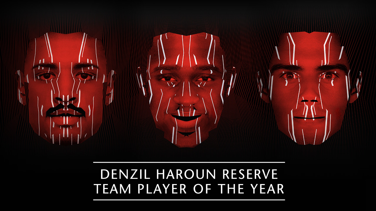 Denzil Haroun Reserve Player of the Year