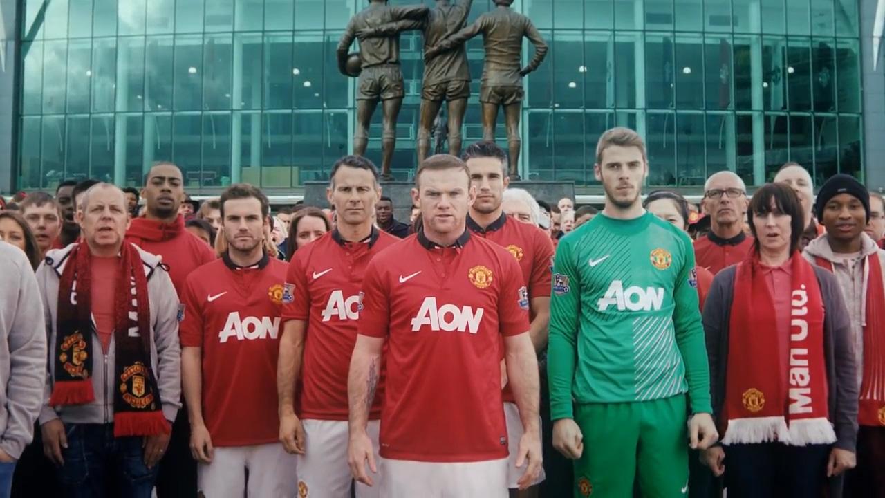 Manchester United Chevrolet Shirt Teaser