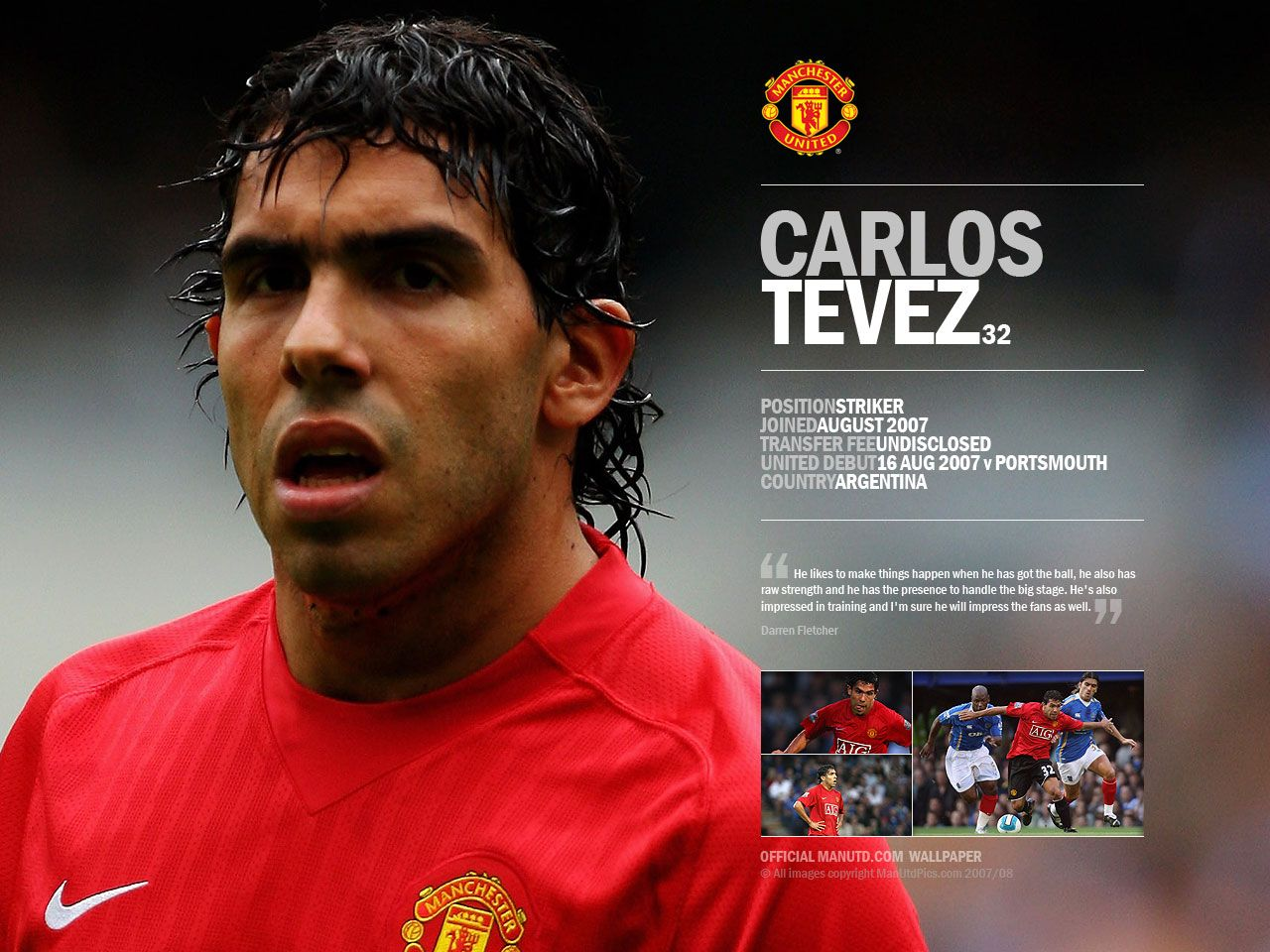 Carlos Tevez Wallpapers