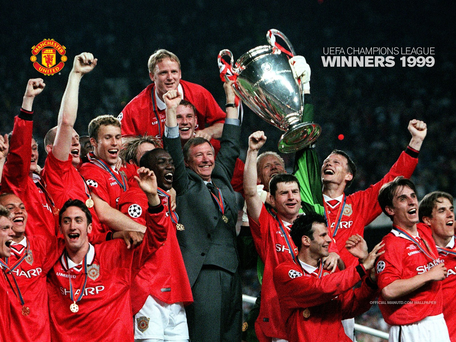 1999 uefa champions league wallpaper red army fanclub for Championship league table 99 00