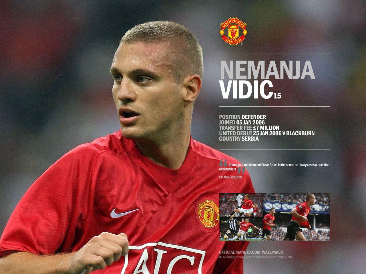 Nemanja Vidic Wallpaper Best