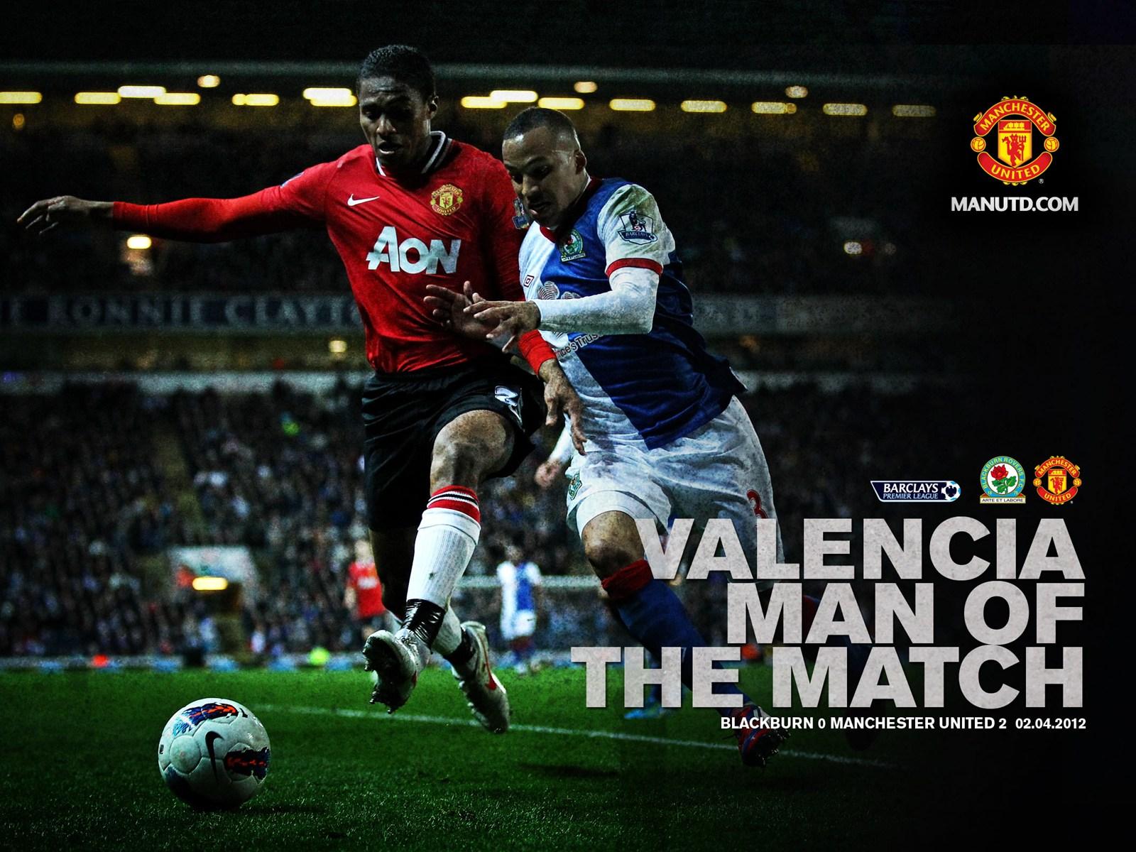 Valencia - MOTM v Blackburn