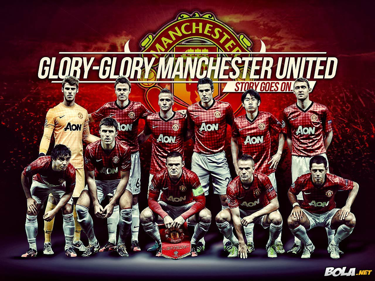Manchester United Wallpaper Red Army Fanclub