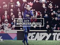 Stoke 1 United 1