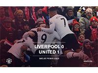 Liverpool 0 United 1