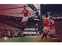 United 3 Arsenal 2