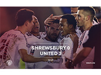 Shrewsbury 0 United 3