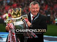 Sir Alex Celebrates