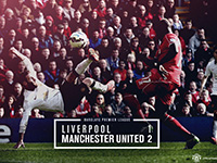 Liverpool 1 United 2