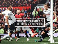 United 3 Tottenham 0