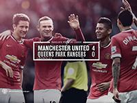 United 4 QPR 0