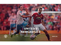 United 0 Newcastle 0