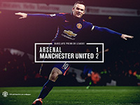 Arsenal 1 United 2