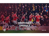 Watford 1 United 2