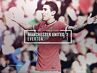 United 2 Everton 1