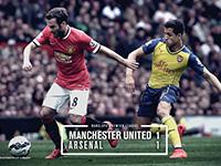 United 1 Arsenal 1