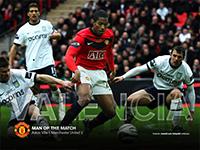 Valencia - Man of the Match Aston Villa 1 United 2