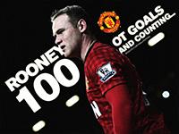Rooney 100 Old Trafford Goals