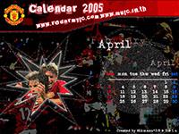 ปฎิทินแมนยู เมษายน 2005