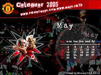 ปฎิทินแมนยู พฤษภาคม 2005