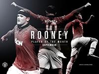 POTM September - Wayne Rooney