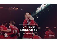United 3 Stoke City 0