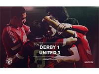 Derby 1 United 3