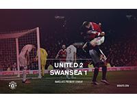 United 2 Swansea 1