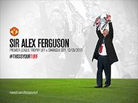 #THISISYOURTURF Sir Alex Ferguson