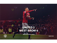 United 2 West Brom 0