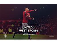 United 2 West Brom 0