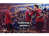 Everton 0 United 3