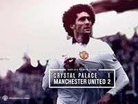 Crystal Palace 1 United 2