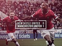 Newcastle 0 United 1