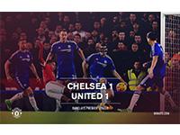 Chelsea 1 United 1