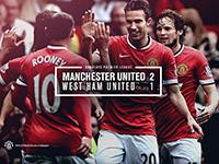 United 2 West Ham 1