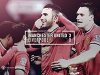 United 3 Liverpool 0
