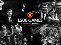 Sir Alex: 1500 Games