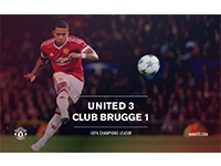United 3 Club Brugge 1