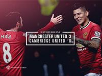 United 3 Cambridge 0