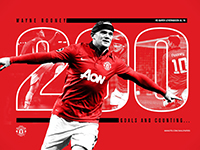 Rooney 200 Goals