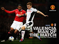 Valencia - MOTM v Fulham